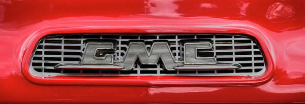 Wall Art - Photograph - Gmc Truck Logo by Paul Freidlund