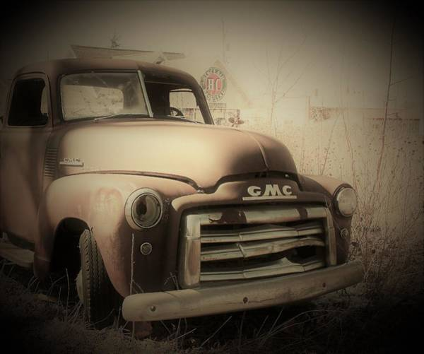 Wall Art - Photograph - Gmc Vintage Truck by Toni Grote