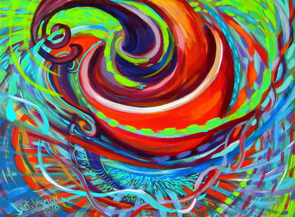 Painting - Go Cup by Jeanette Jarmon