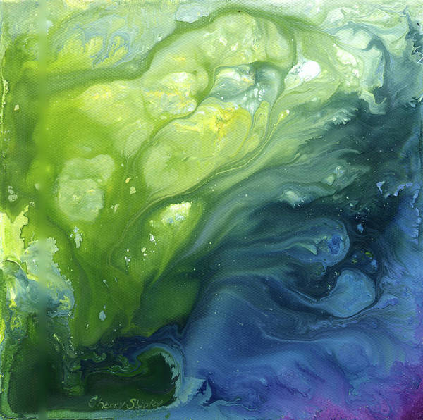 Painting - Go With The Flow by Sherry Shipley