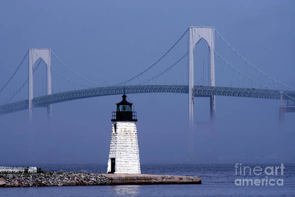 Wall Art - Photograph - Goat Island Lighthouse by Jim Beckwith