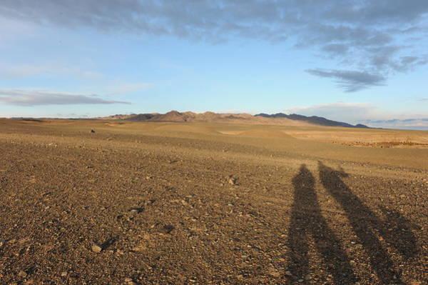 Desert Rose Photograph - Gobi Emptiness by Jessica Rose