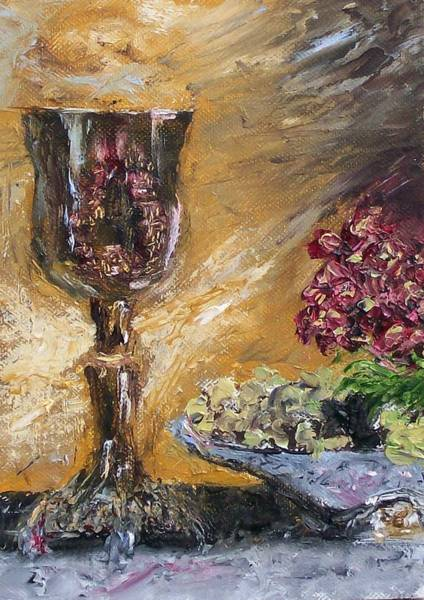Stephen King Painting - Goblet by Stephen King