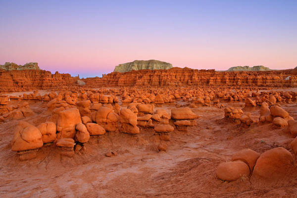 Goblin Valley State Park Photograph - Goblin Glow by Mike  Dawson