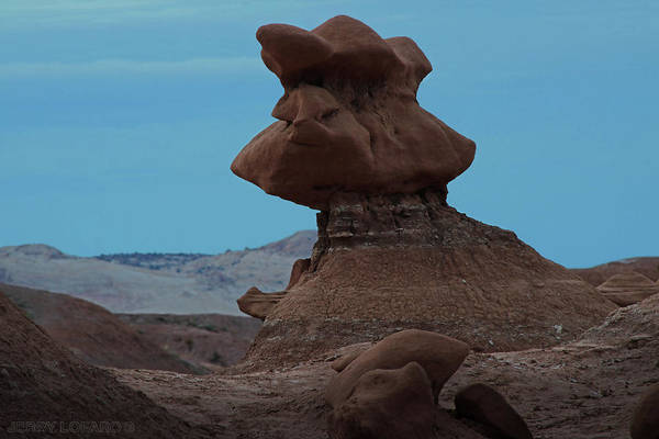 Erosion Wall Art - Digital Art - Goblin Valley by Jerry LoFaro