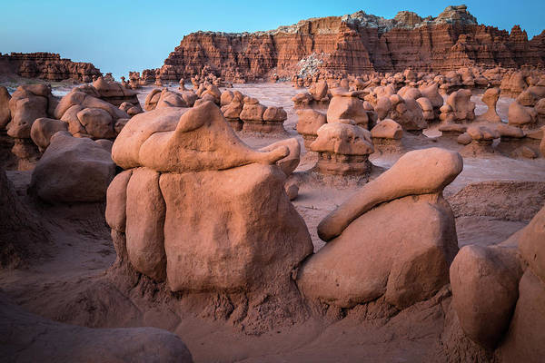Goblin Photograph - Goblin Valley Rock Formations by James Udall