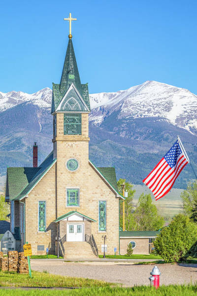 Westcliffe Photograph - God And Country by Eric Glaser