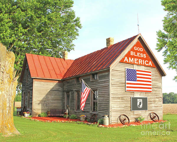Wall Art - Photograph - God Bless America 2018 by Jean Plout