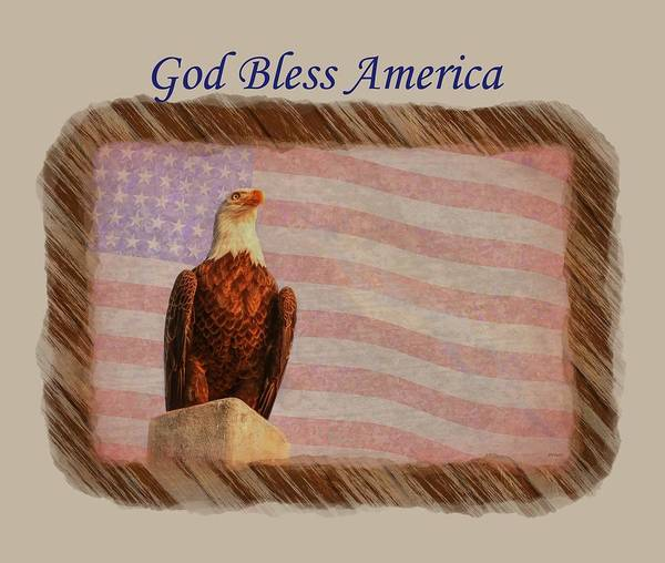 Photograph - God Bless America by John M Bailey