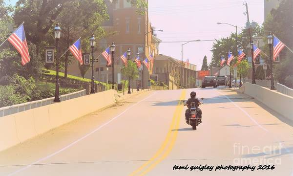 Wall Art - Photograph - God Bless America by Tami Quigley