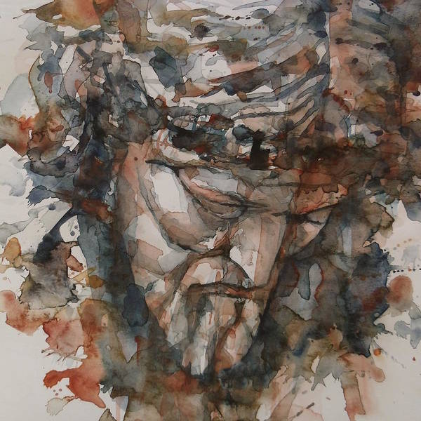 Saint Painting - God Is Great  by Paul Lovering