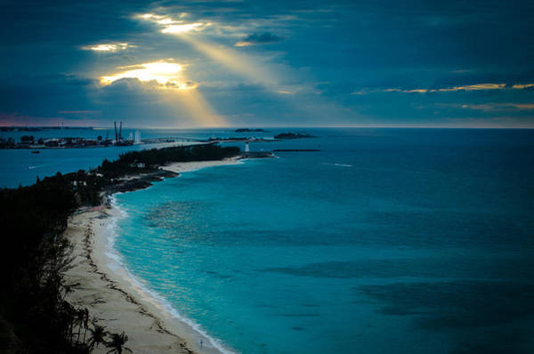 Photograph - God Rays Over Paradise by Jeff Phillippi
