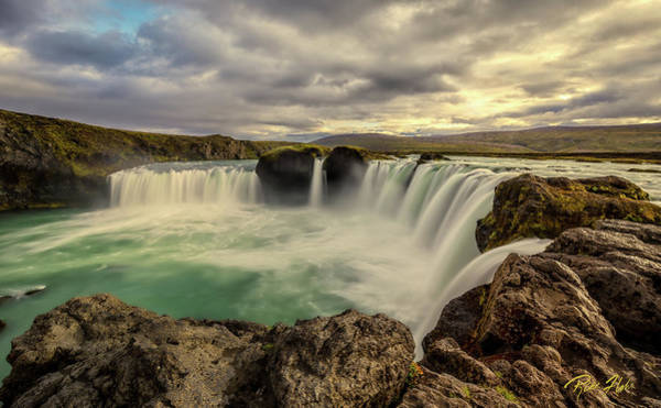 Photograph - Godafoss In Late Afternoon by Rikk Flohr