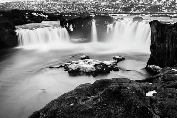 Photograph - Godafoss Waterfall Iceland by Pradeep Raja PRINTS