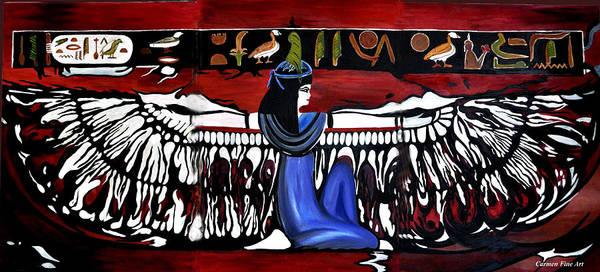 Art Print featuring the painting Goddess by Carmen Fine Art