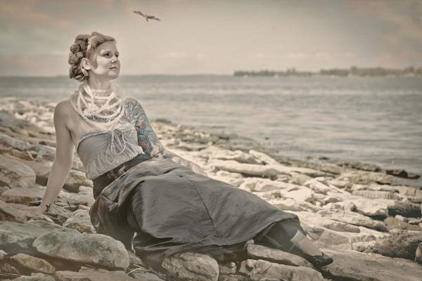Wall Art - Photograph - Goddess Of The Sea by Everet Regal