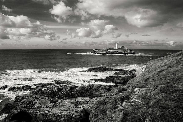 Godrevy Lighthouse 1 Art Print