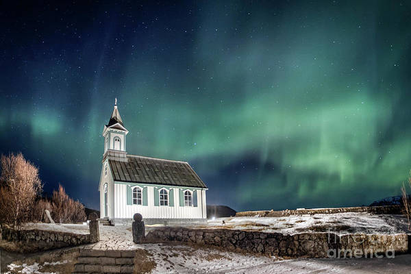 Northern Photograph - Gods by Evelina Kremsdorf