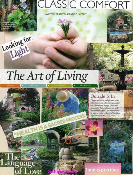 Mixed Media - God's Garden Of Love by Susan Schanerman