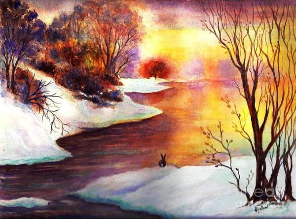 Wall Art - Painting - God's Love Letter by Hazel Holland