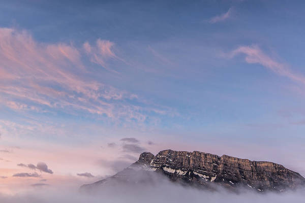 Art In Canada Photograph - Gods Mountain by Jon Glaser