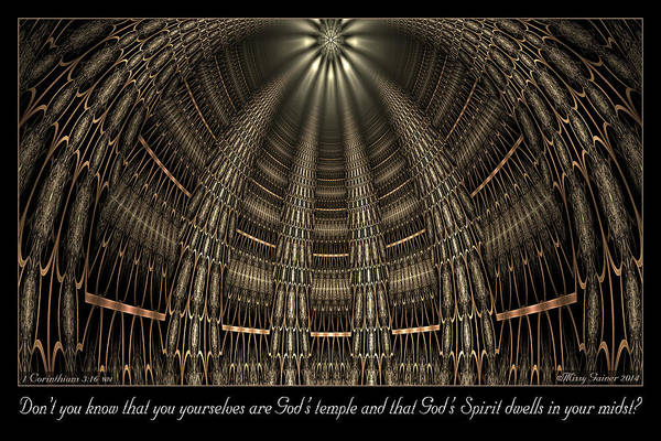 Digital Art - God's Temple by Missy Gainer