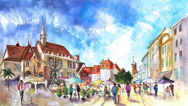 Painting - Goettingen 01 by Miki De Goodaboom