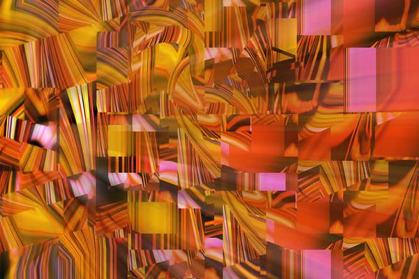 Digital Art - Going Away Perspective by rd Erickson
