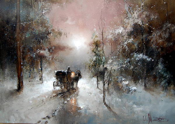 Painting - Going For Visit by Igor Medvedev