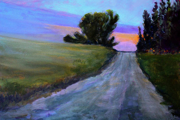 North Dakota Painting - Going Forward by Nancy Merkle