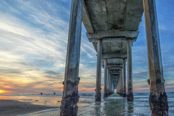 Scripps Pier Photograph - Going Home by Joseph S Giacalone