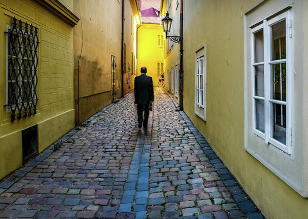 Photograph - Walking Home by M G Whittingham