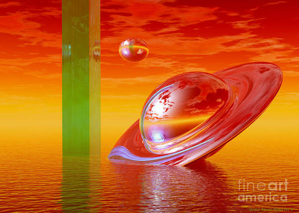 Digital Art - Going Home by Sandra Bauser Digital Art