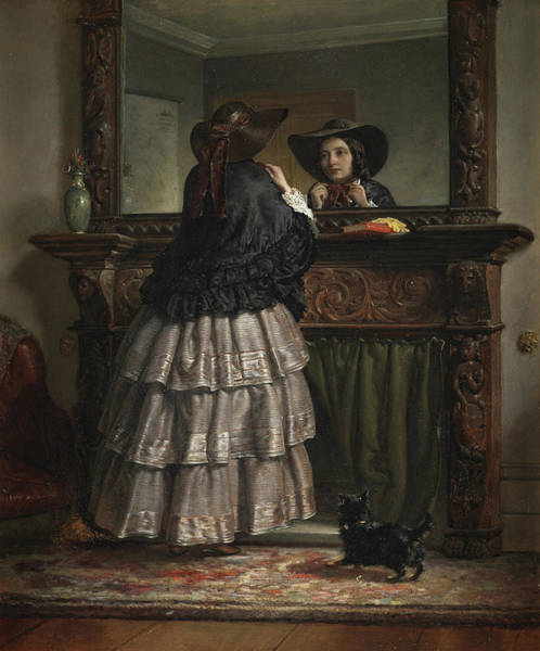 Ready Painting - Going Out  by Philip Hermogenes Calderon