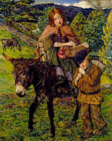 Wall Art - Painting - Going To Market by John Lee