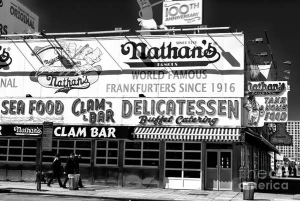 Wall Art - Photograph - Going To Nathan's by John Rizzuto