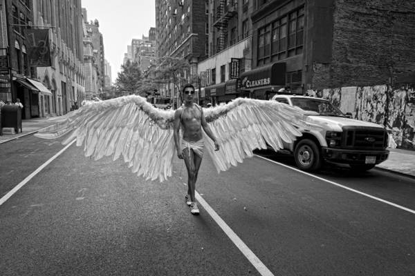 Pride Photograph - Going To The Parade by Robert Ullmann