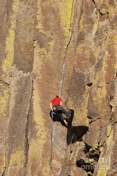 Basalt Photograph - Going Up by Mike Dawson