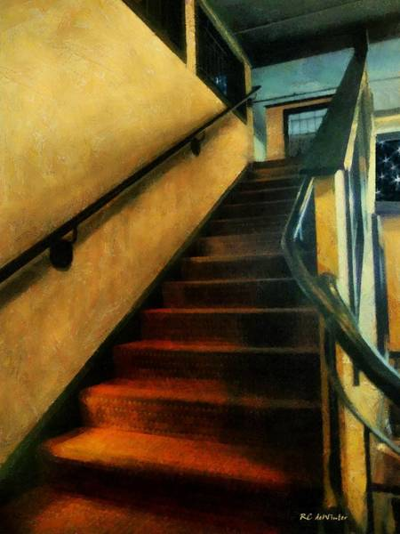Painting - Going Up by RC DeWinter