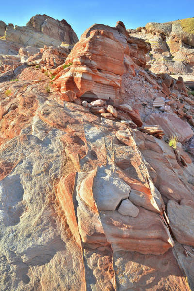 Photograph - Going Uphill From Wash 5 In Valley Of Fire by Ray Mathis