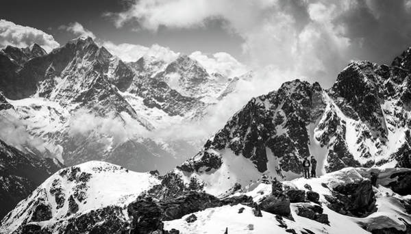 Photograph - Gokyo Ri by Laura Szanto