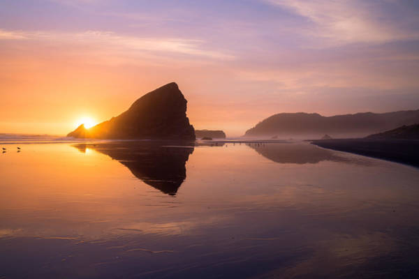 Photograph - Gold Beach by Dustin  LeFevre