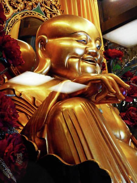 Vung Tau Photograph - Gold Buddha 5 by Ron Kandt