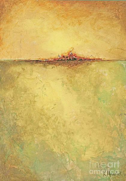 Painting - Gold City by Kaata    Mrachek