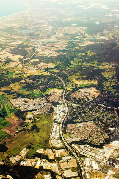 Housing Development Photograph - Gold Coast Aerial Photograph by Jorgo Photography - Wall Art Gallery