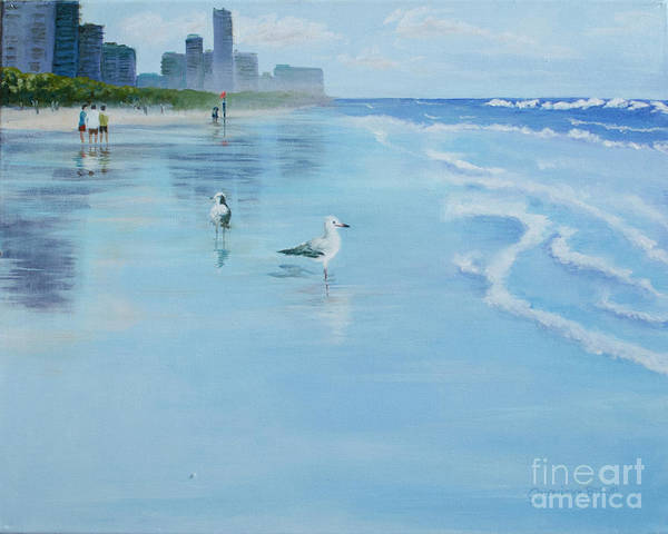 Painting - Gold Coast Australia, by Genevieve Brown