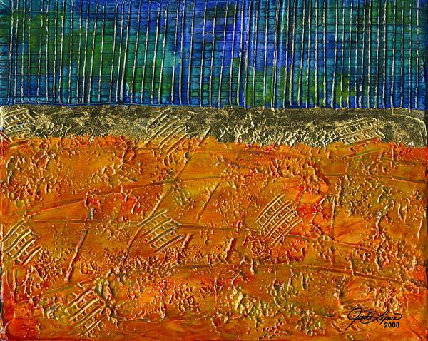 Wall Art - Painting - Gold Coast by The Art Of JudiLynn
