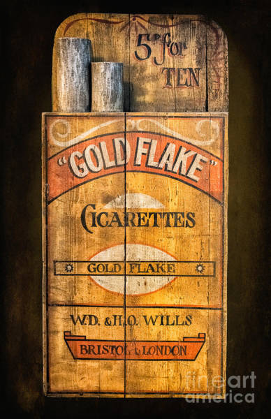 Flake Photograph - Gold Flake by Adrian Evans