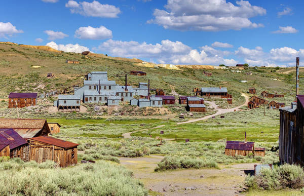 Bodie Ghost Town Wall Art - Photograph - Gold In Them Hills by Ricky Barnard