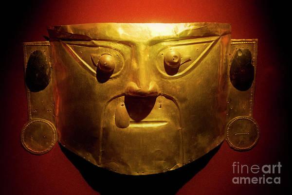 Photograph - Gold Mask by Scott Kemper